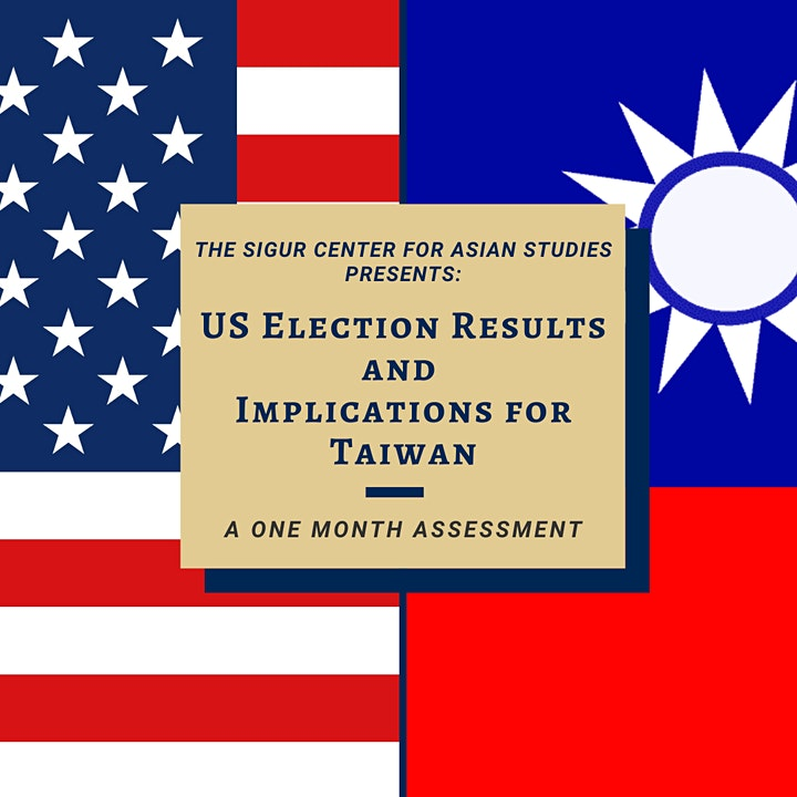 US Election Results and Implications for Taiwan: A One Month Assessment image