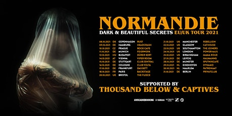NEUES DATUM! Normandie, Thousand Below, Captives @ Viper Room, Wien Tickets