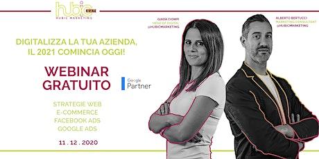 Hubic day Webinar - Evento gratuito | Digitalizza la tua Azienda biglietti