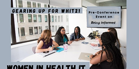 Gearing Up for WHIT21: Pre-Conference Event on Bring Informed tickets