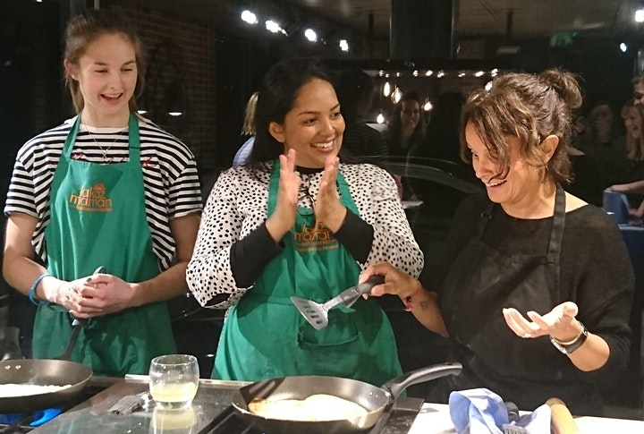 Virtual Cook along Class with  MasterChef winner Shelina Permalloo image
