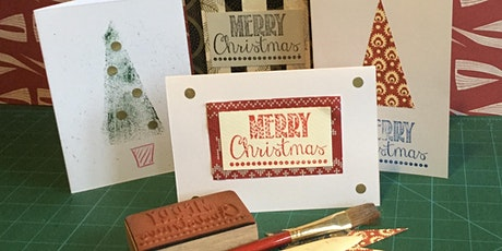 Handmade Christmas Cards tickets