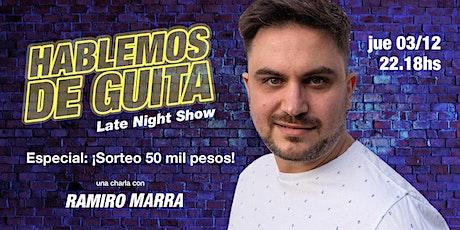 Hablemos de Guita en Vivo: ¡Hacemos el sorteo de los 50 mil pesos boletos