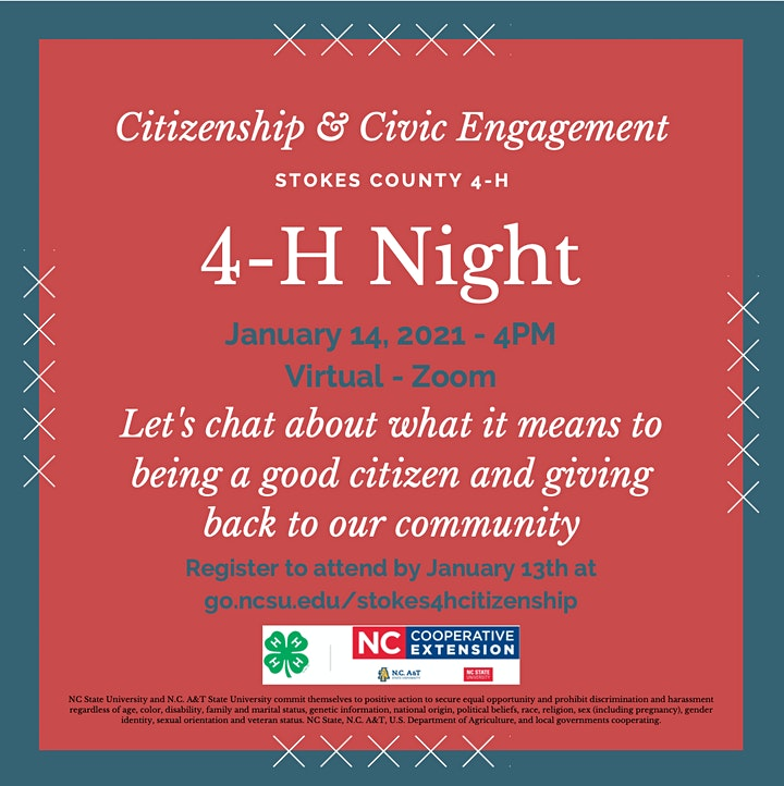 Stokes County 4-H Night - Citizenship  image