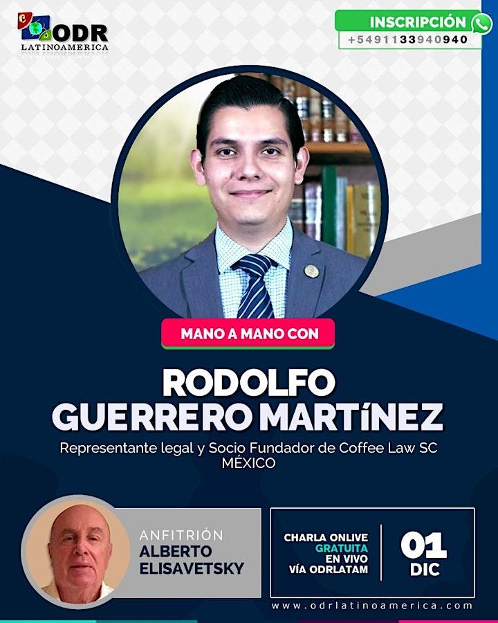 Imagen de Mano a mano con Rodolfo Guerrero Martinez