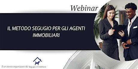 Il metodo Segugio per gli agenti immobiliari biglietti