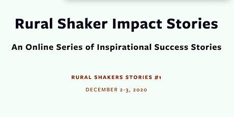 Rural Shakers Impact Stories (English-Traducción escrita al Español) tickets