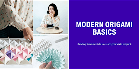 50% off a  modern origami Jam 11/28 (held online) tickets