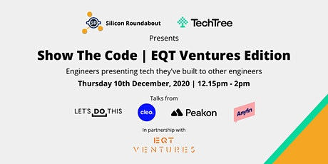 Show The Code | EQT Ventures Edition tickets