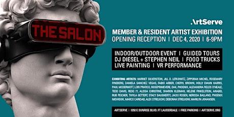 The Salon Exhibition Reception tickets