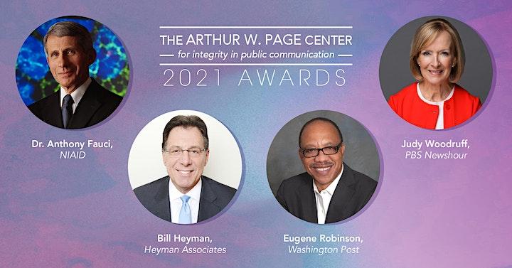 2021 Arthur W. Page Center Awards image