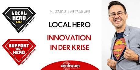 Local Hero - Innovation in der Krise mit Nik Eugster tickets