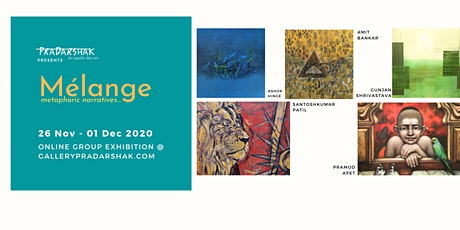 Mélange.. metaphoric narratives..A group of abstract & figurative paintings tickets
