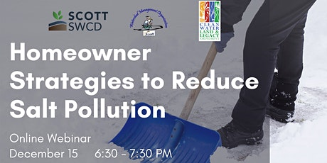 Homeowner Strategies to Reduce Salt Pollution tickets