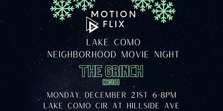 Lake Como Holiday Movie Night - Sponsored by Motion Flix tickets