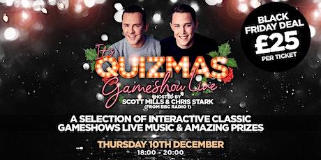 It's Quizmas Gameshow Live tickets