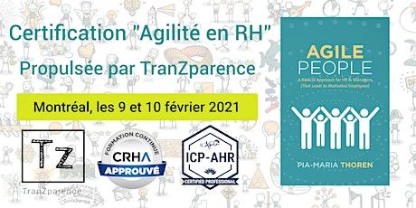Fondamentaux Agile People et Agilité en RH (ICP-AHR) billets