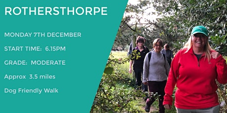 ROTHERSTHROPE RAMBLE | 3.5 MILES | MODERATE | NORTHANTS tickets