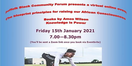 Book Discussion on the Blueprint Principles to raise African Consciousness tickets
