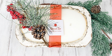 Holiday Doughbowl Candle Make & Take Event tickets
