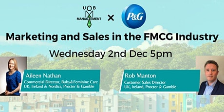 P&G: Marketing and Sales in the FMCG Industry tickets
