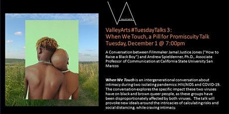 "TuesdayTalks #3: ""When We Touch,"" a Pill for Promiscuity Talk tickets"