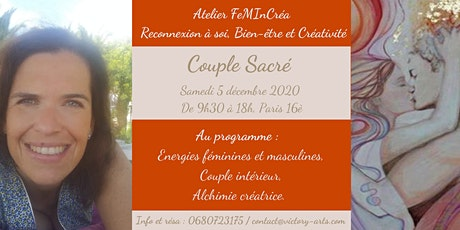 Atelier FemInCrea - Couple sacré tickets