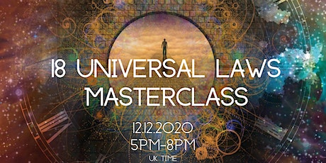 18 Universal Laws tickets