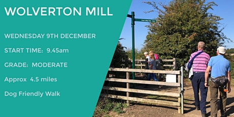WOLVERTON MILL NATURE RESERVE | 4.7 MILES | MODERATE | NORTHANTS tickets