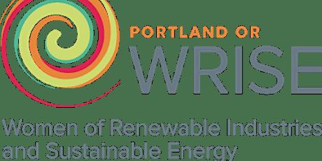 PDX & Seattle WRISE Renewable Hydrogen Speaker Series Session 1 Foundations tickets