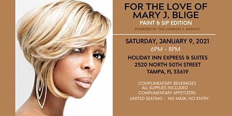 For The Love of Mary J. Blige - Paint and Sip Edition tickets