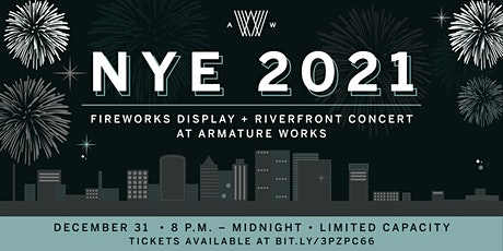New Years Eve Riverfront Concert & Fireworks at Armature Works tickets