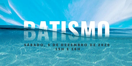 Batismo 2020 - CCAme - 05/12 ingressos