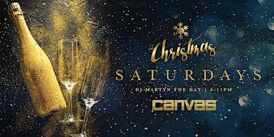Canvas Christmas Saturdays w/ Martyn The Hat