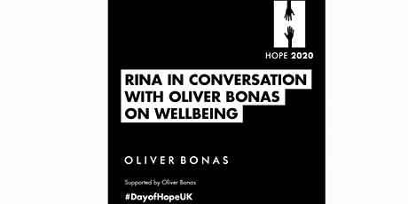 Rina: In conversation with Oliver Bonas on wellbeing tickets