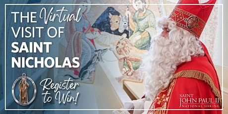 The Virtual Visit of Saint Nicholas and Giveaway tickets