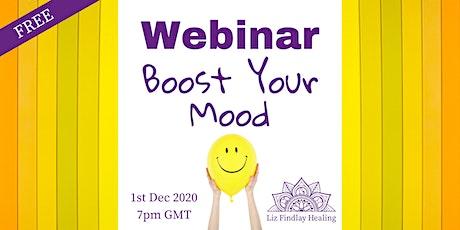 Webinar - Boost Your Mood tickets
