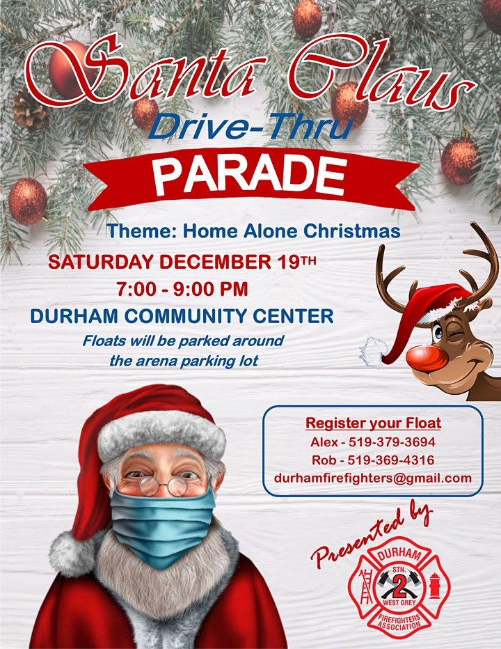 Drive-thru Santa Claus Parade image