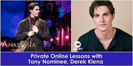 Private Online Lessons with Tony Nominee, Derek Klena tickets