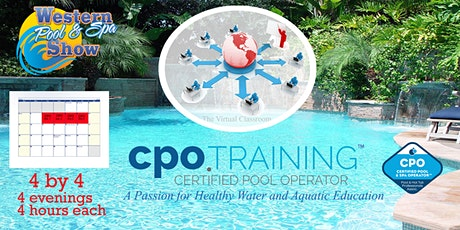 """Virtual CPO  """"4 by 4"""" Certification Class, June 8-11"""