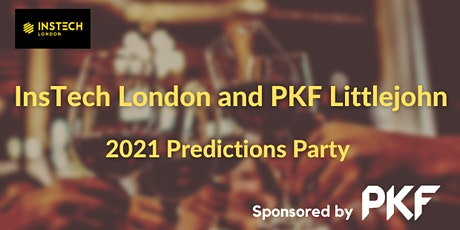 The Instech London and PKF Littlejohn 2021 Predictions Party tickets