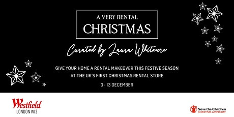 A Very Rental Christmas - Book a virtual appointment with our home stylist tickets