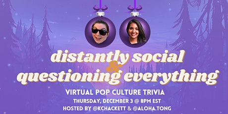 QE Trivia 035: Distantly Social & Questioning Everything (Virtual Pub Quiz) tickets