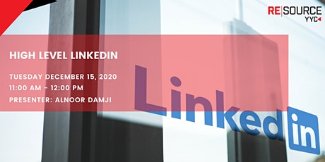 High level LinkedIn tickets