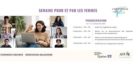 Semaine Pour et Par les femmes billets