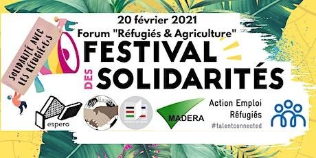 Forum Réfugiés & Agriculture Festival des Solidarités billets