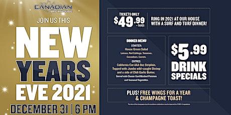 New Year's Eve (Regina Grasslands) tickets
