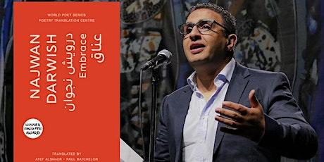 'Embrace': Najwan Darwish with Durham University tickets