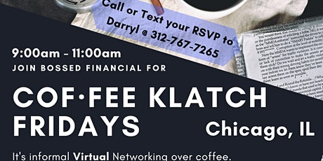Cof·fee Klatsch for Small Businesses (Virtual Networking) - Chicago, IL Tickets