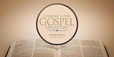 Ordination of Jeffery Brown